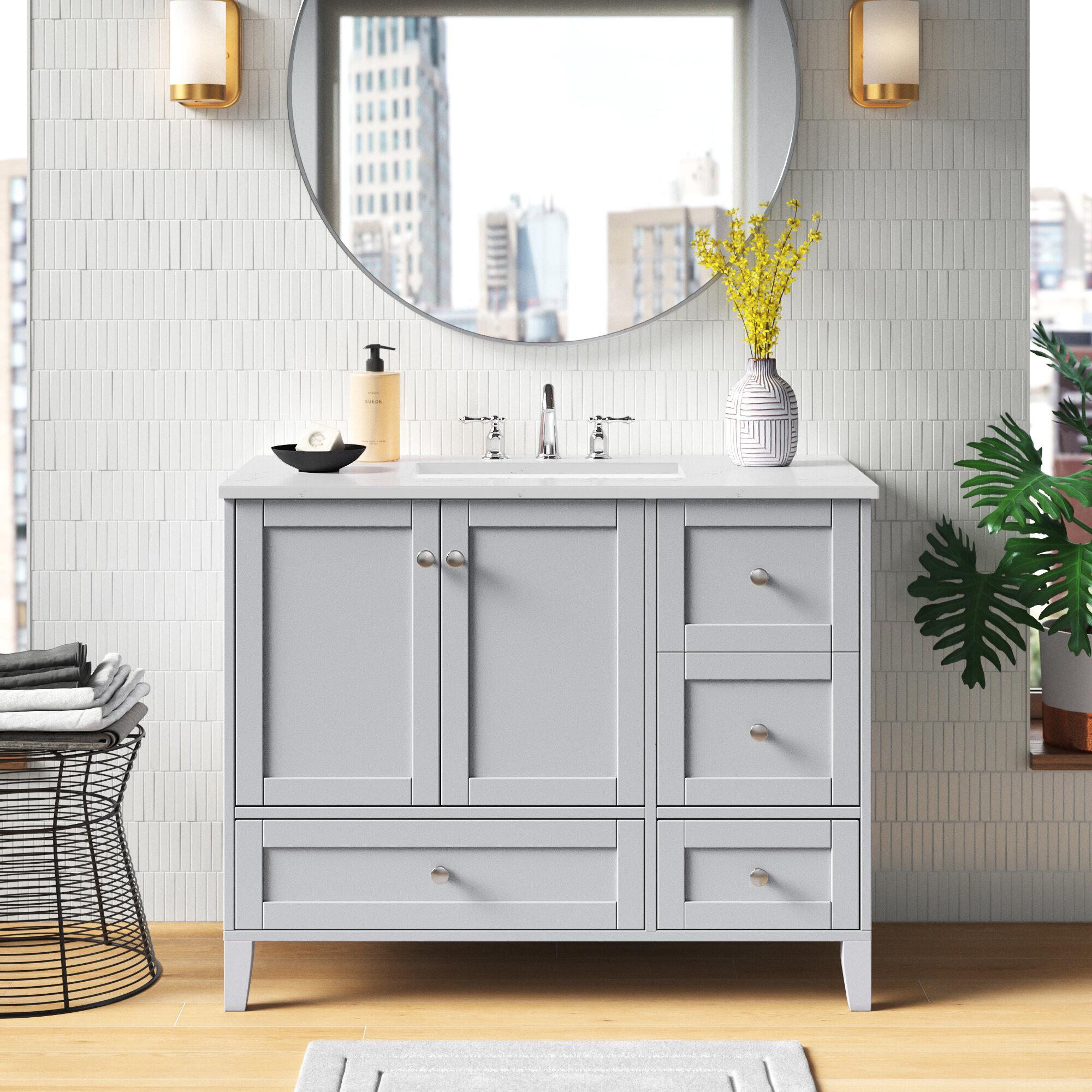 Wayfair   20 Drawer Bathroom Vanities You'll Love in 20
