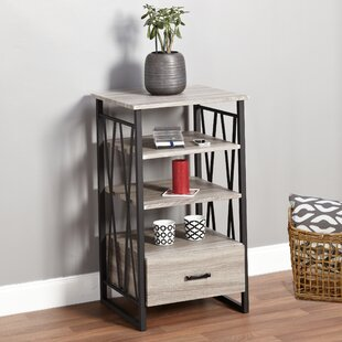 Piccolo End Table with Storage by Wrought Studio