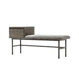 Brilliant Galvanized Metal Storage Bench Wayfair Creativecarmelina Interior Chair Design Creativecarmelinacom