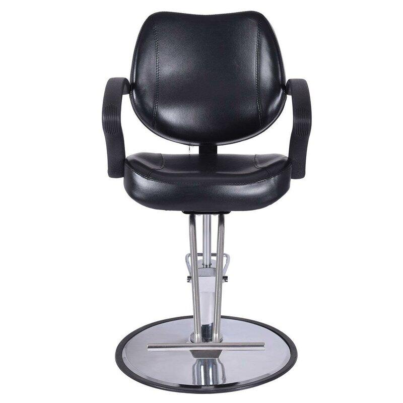 Symple Stuff Hydraulic Barber Shop Salon Work Station Massage Chair Reviews Wayfair