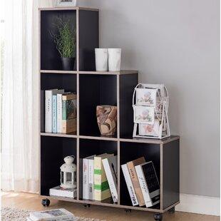 Lea Modern Mobile Standard Bookcase Ebern Designs