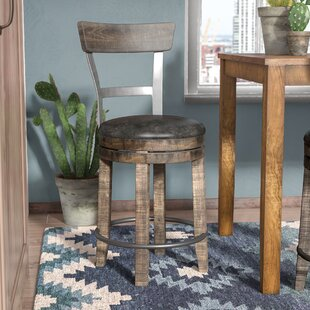Arianna 24 Swivel Bar Stool Union Rustic