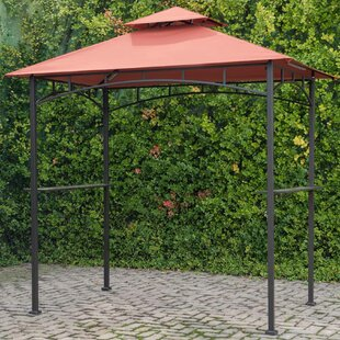 8 Ft. W x 5 Ft. D Steel Grill Gazebo by Sunjoy