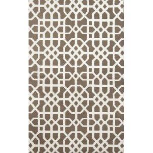 Tile Brown/Cream Indoor/Outdoor Area Rug