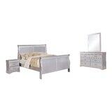 Fernwood Sleigh Configurable Bedroom Set by Charlton Home