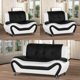 Gilson 3 Piece Living Room Set by Orren Ellis