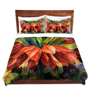 DiaNoche Designs Fritillaria Duvet Set