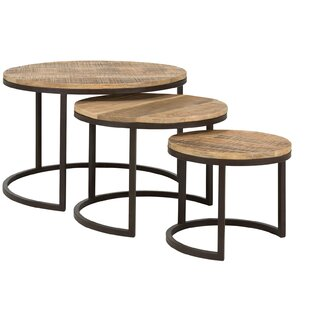 Clairton 3 Piece Nest Of Tables By Massivum