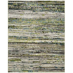 Sevastopol Cream/Green Area Rug