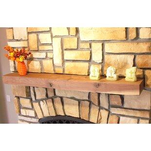 Fireplace Mantel Shelf By Kettle Moraine Hardwoods