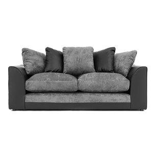 Raffaele 3 Seater Sofa By Brayden Studio