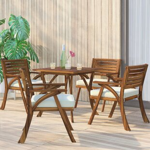 Ajax 5 Piece Teak Dining S..