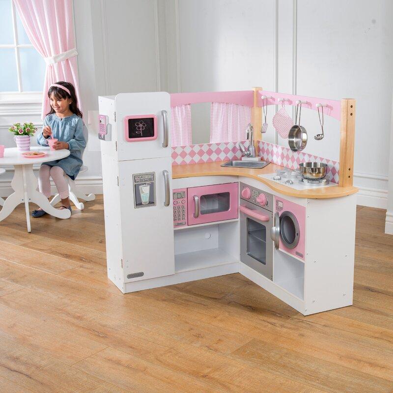 Beautiful Grand Gourmet Corner Kitchen Set