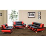 Arlinna 3 Piece Living Room Set by Orren Ellis