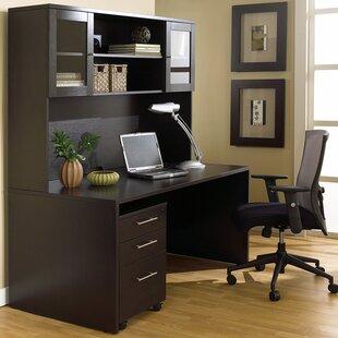 Haaken Furniture Pro X Executive 3 Piece Desk Office Suite