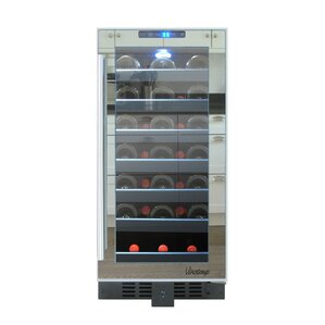 33 Bottle Single Zone Convertible Wine Cooler by Vinotemp
