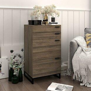 Lurdes 4 Drawer Dresser by Union Rustic
