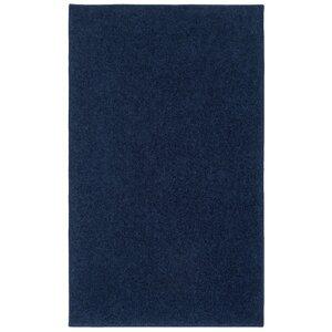 Anika Midnight Navy Blue Area Rug