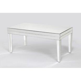 Menke Beveled Mirror Coffee Table by House of Hampton
