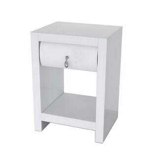 Price comparison Kattan Curved Nightstand by Rosdorf Park
