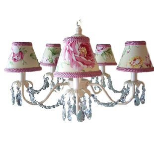 Camillah 5-Light Shaded Chandelier by Silly Bear Lighting