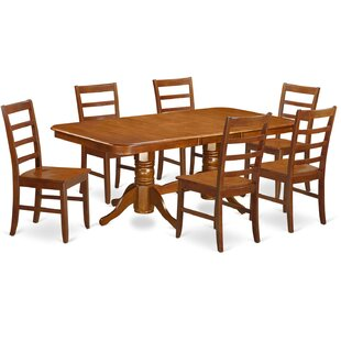 Pillsbury Modern 7 Piece Wood Dining Set ..