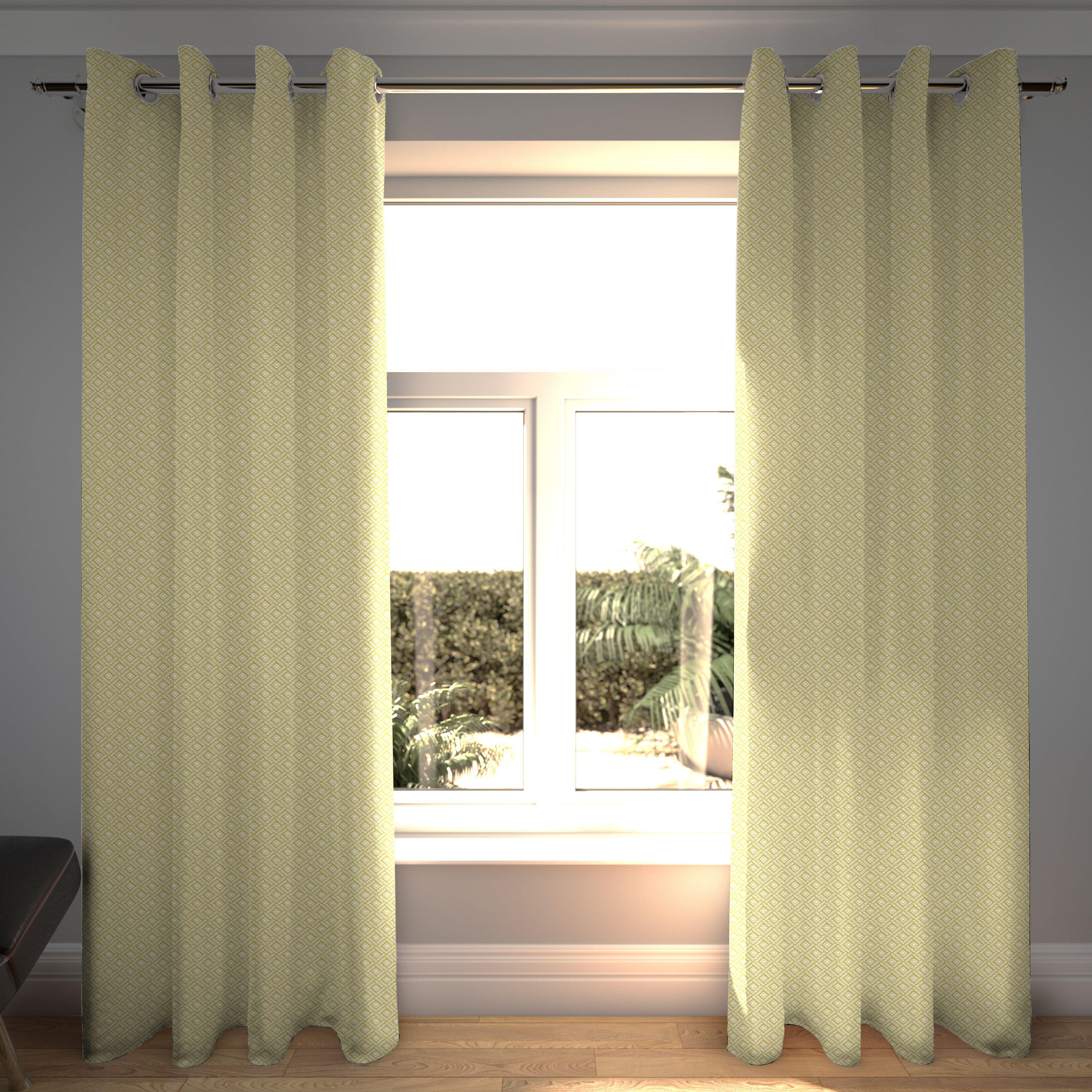 Mid Century Modern Blackout Curtains You Ll Love In 2021 Wayfair