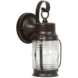 Searching for Oakhill 1-Light Outdoor Sconce By Charlton Home