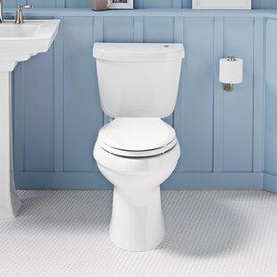 Cimarron Impressions 2 Piece Touchless Toilet with Aquapiston Flushing Technology ByKohler