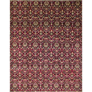 One-of-a-Kind Montagueu00a0Hand-Knotted Purple Area Rug