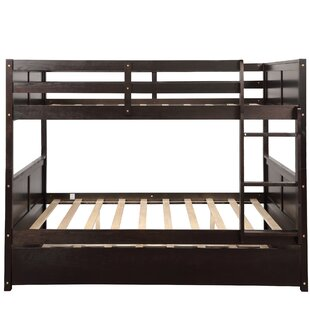 Petrie Full Over Full Bunk Bed with Trundle