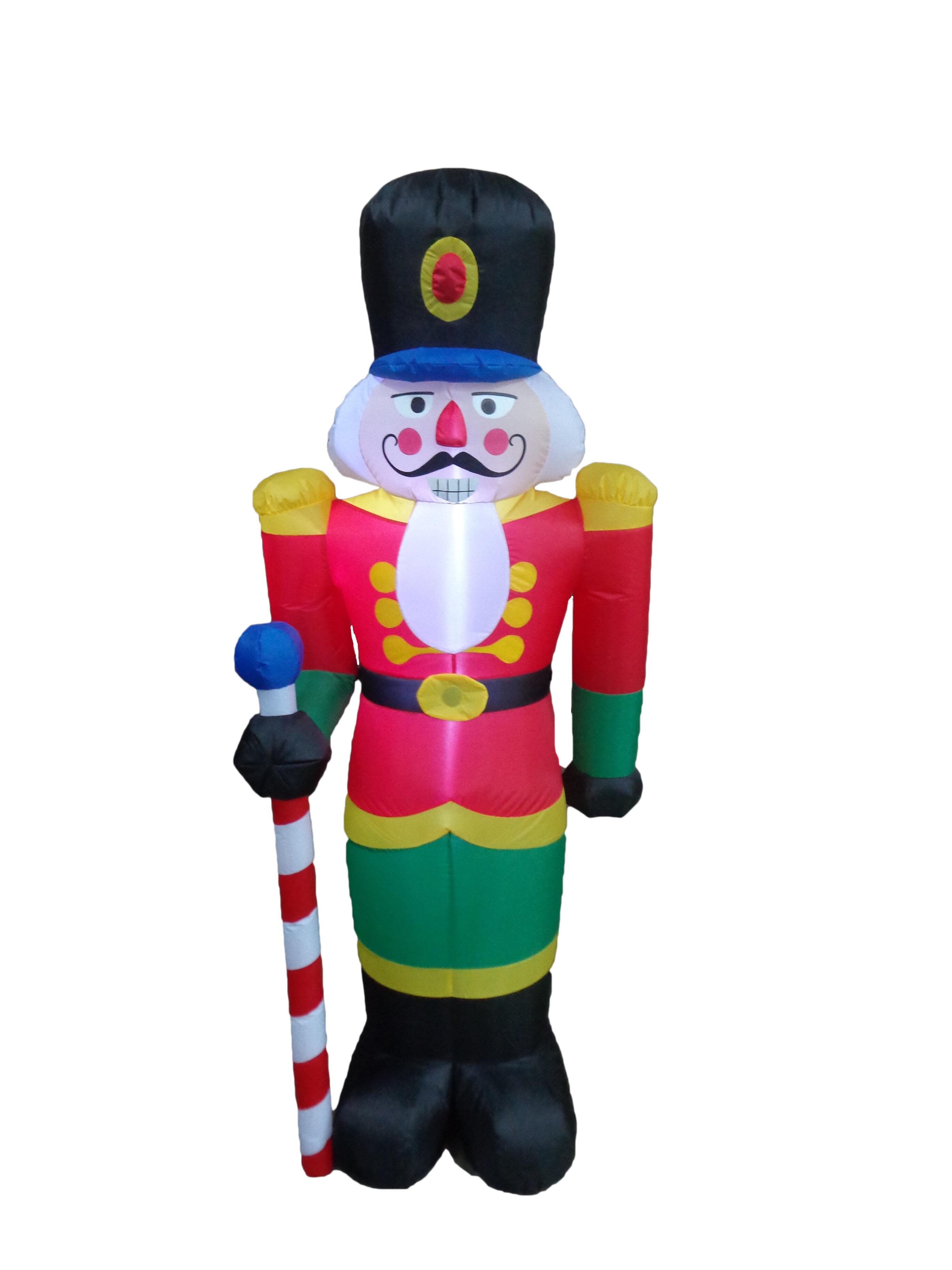 The Holiday Aisle Nutcracker Christmas Inflatable & Reviews | Wayfair
