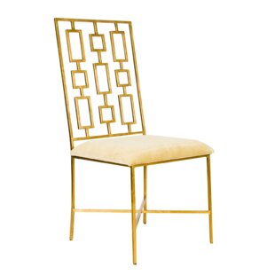 Upholstered Dining Chair by Worlds Away Best #1