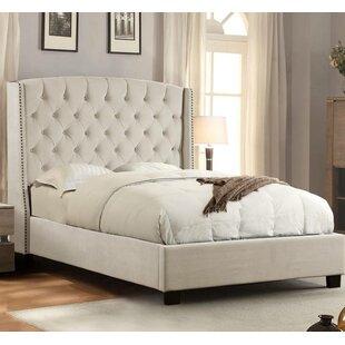 Henriksen Tufted Upholstered Standard Bed