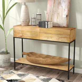 Sterner Console Table by Union Rustic Modern
