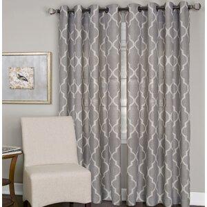 Horatio Medalia Single Curtain Panel