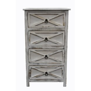 Dandre 4 Drawer Accent Cabinet by Ophelia & Co.