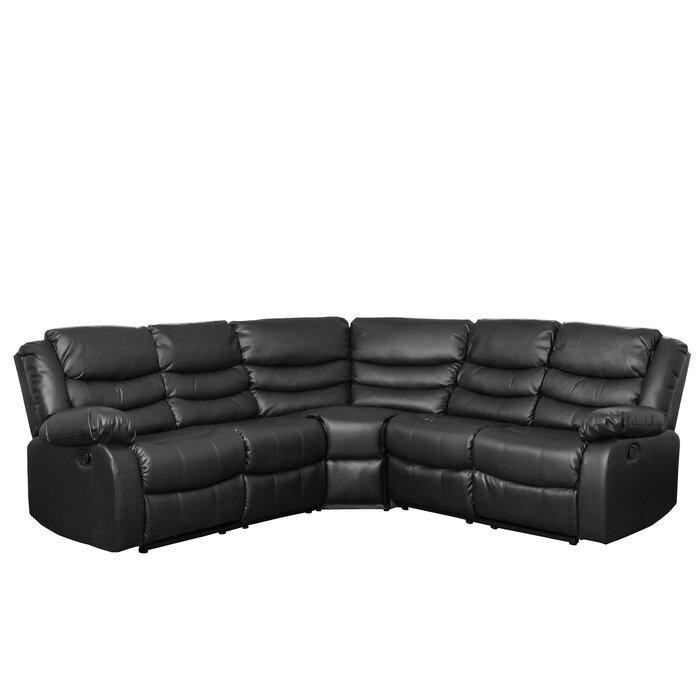 Lotus Reclining Corner Sofa