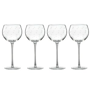 Larabee Dot 16 Oz. All Purpose Wine Glass (Set of 4)
