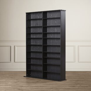 Charlton Home Conners  Multimedia Storage Rack