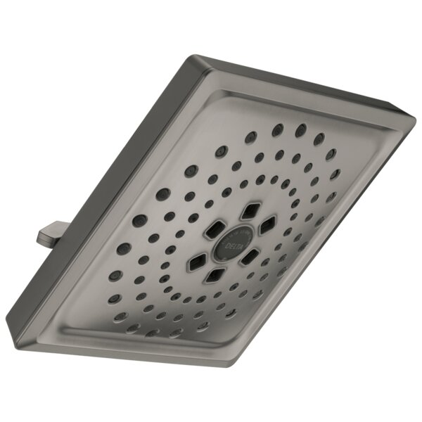 Delta 3 Setting Raincan Multi Function Fixed Shower Head With H2okinetic Technology Wayfair
