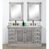 Bootle 61 Double Bathroom Vanity Set by Gracie Oaks