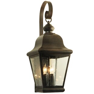 Best Choices La Palma 3-Light Outdoor Wall Lantern By 2nd Ave Design