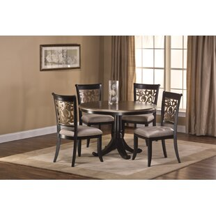 Chuckanut 5 Piece Dining Set by Fleur De Lis Living No Copoun