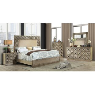Menth Panel Configurable Bedroom Set by Andrew Home Studio