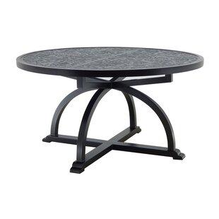 Leona Arches Aluminum Dining Table