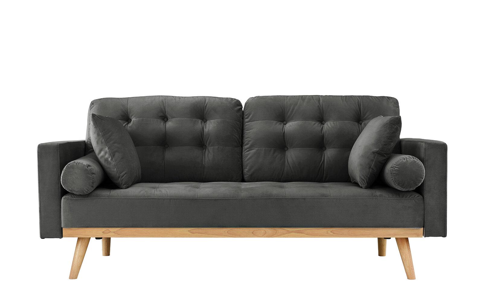Wrought Studio Seagle Mid Century Modern Sofa Reviews Wayfair