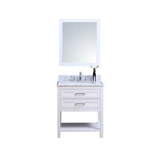 Top Reviews Cipriani 24 Single Bathroom Vanity Set ByWinston Porter