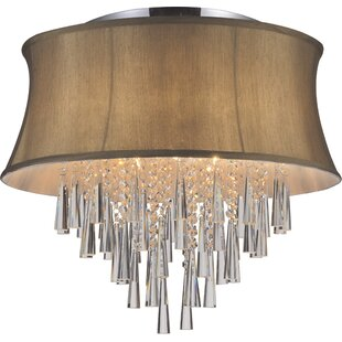 CWI Lighting Audrey 8-Light Flush Mount