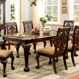 Rima Counter Height Solid Oak Dining Table by Astoria Grand